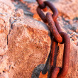 Macro chain link — Stock Photo