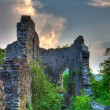 Stock Photo: Ruins of Nevitskiy castle