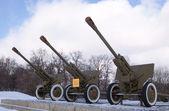 Armas en museo de kiev — Foto de Stock