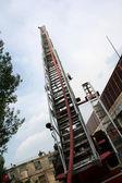 Camión de bomberos detallada — Foto de Stock
