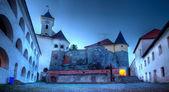 View of old Palanok Castle or Mukachevo Castle — Stock Photo