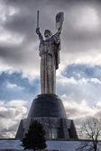 Monument in Kiev Rodina Mother — Stock Photo