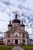 Iglesia en la aldea zapytov — Foto de Stock