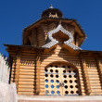 Vsechsvatskiy a monastery. — Stock Photo