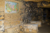 Gamla katakomberna odessa — Stockfoto