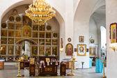 Inre av den ortodoxa kyrkan — Stockfoto