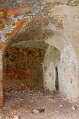 Ruins of ancient fort Tarakanov — Stock Photo