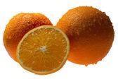fresh orange — Stock Photo