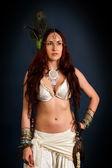 Femme sauvage autochtone — Photo