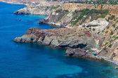Black Sea coast near the city of Sevastopol — Stock Photo