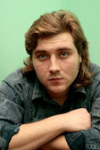 Young handsome guy — Zdjęcie stockowe