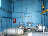Capacity with chlorine — Stock Photo