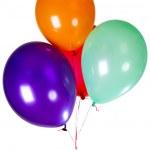 Party balloon decoration — Stock Photo #50935225