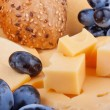 Cheeses background - Stock Photo