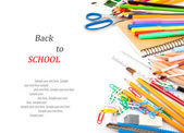 Stationery. Back to school concept — Stock Photo