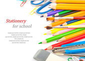 Stationery for school — Stock Photo
