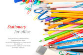 Stationery for office — Stock Photo