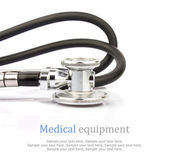 Stethoscope & text — Stock Photo