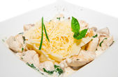 Pastai with chicken — Stock Photo