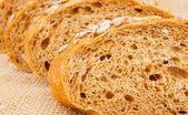 Pieces of bread — Stock Photo