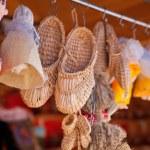 Handmade souvenirs — Stock Photo