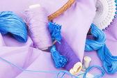 Embroidery tools — Stockfoto