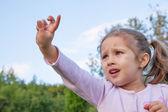 Marzy dziewczynka — Zdjęcie stockowe