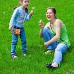 Girls outdoors — Stock Photo #49936095
