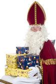 Sinterklaas y regalos — Foto de Stock