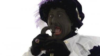 Zwarte Piet — Stock Video