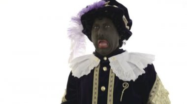 Zwarte Piet — Stock Video