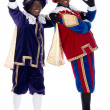 Portrait of Zwarte Piet — Stockfoto
