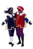 Portrait of Zwarte Piet — Stock Photo