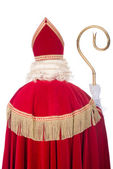 Sinterklaas from the back — Stock Photo