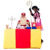 Sinterklaas werkt — Stockfoto