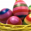 Easter Eggs In A Basket -2 — Stock Photo #5919730