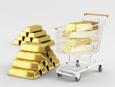 Buy Gold — Stock Photo