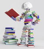 Book man — Stock Photo
