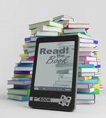 E-book — Stock Photo