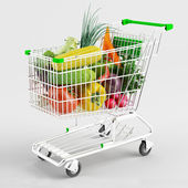 Buying vegetables — Stock Photo