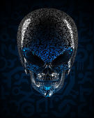 Alien skull — Stock Photo