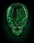 Alien Skull — Stock Photo