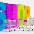 Preparation for Shopping — Foto de Stock