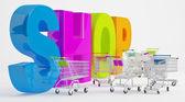 Przygotowanie na zakupy — Zdjęcie stockowe