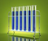 The study of chemistry — Stock Photo