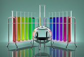 Multicolored tubes — Stock Photo