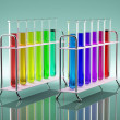 Stock Photo: Multicolored tubes