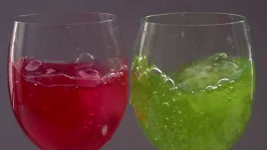 Two cocktails — Stock Video
