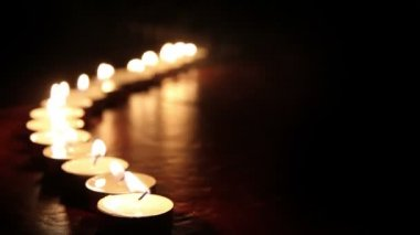 Candlelight — Video Stock