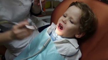 Pediatric Dentistry — Stock Video